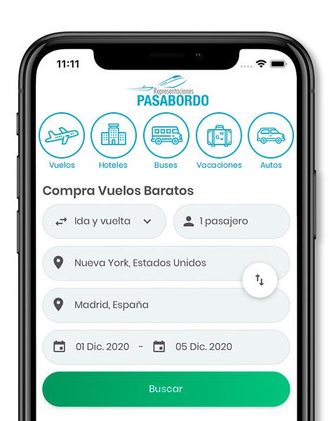 App Representaciones Pasabordo